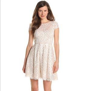 White Lace Dress by ABS Allen Schwartz. Size 2